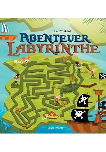Buch »Abenteuer-Labyrinthe. Bunt und spannend. / Leo Trinidad« kaufen