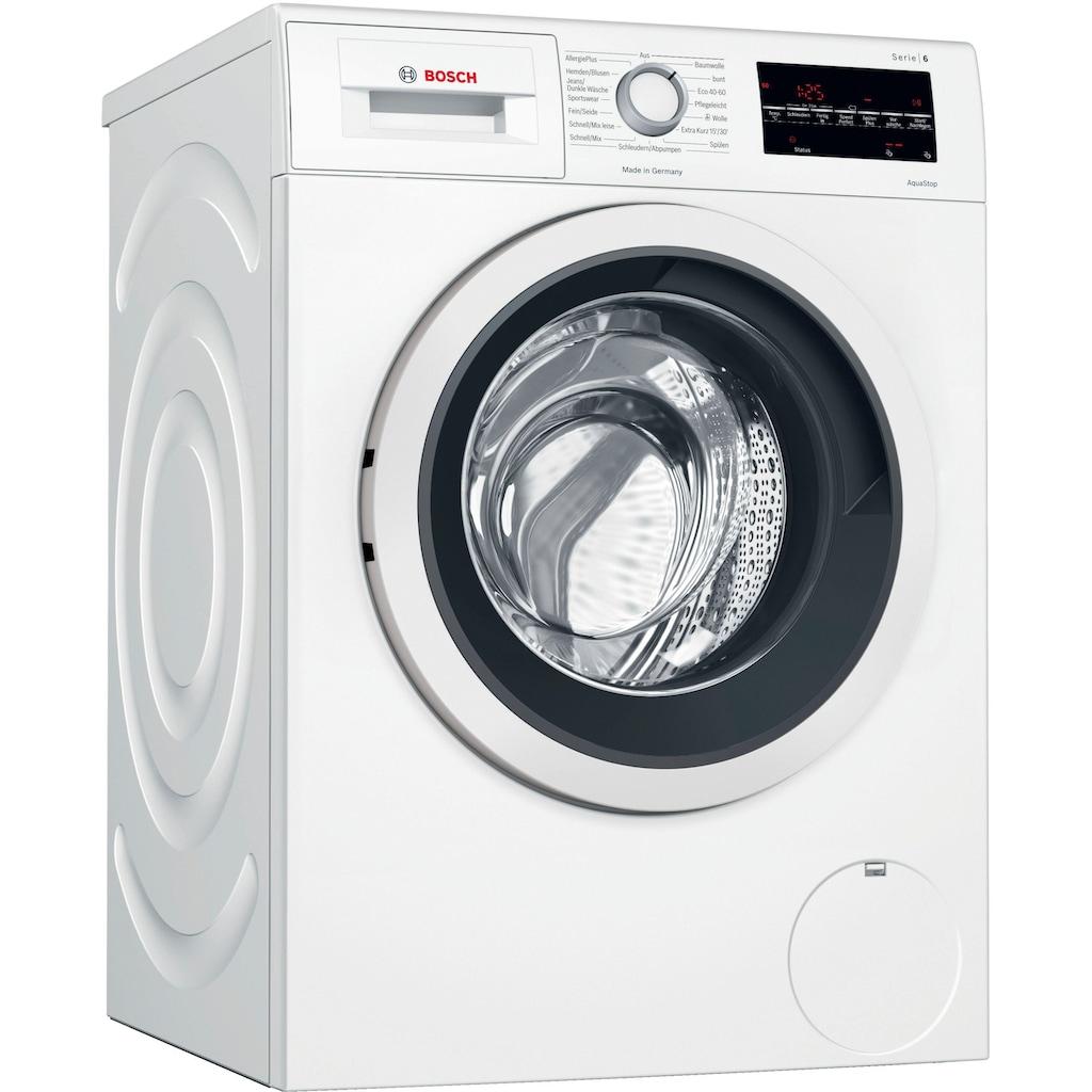 BOSCH Waschmaschine »WAG28400«, Serie 6, WAG28400, 8 kg, 1400 U/min