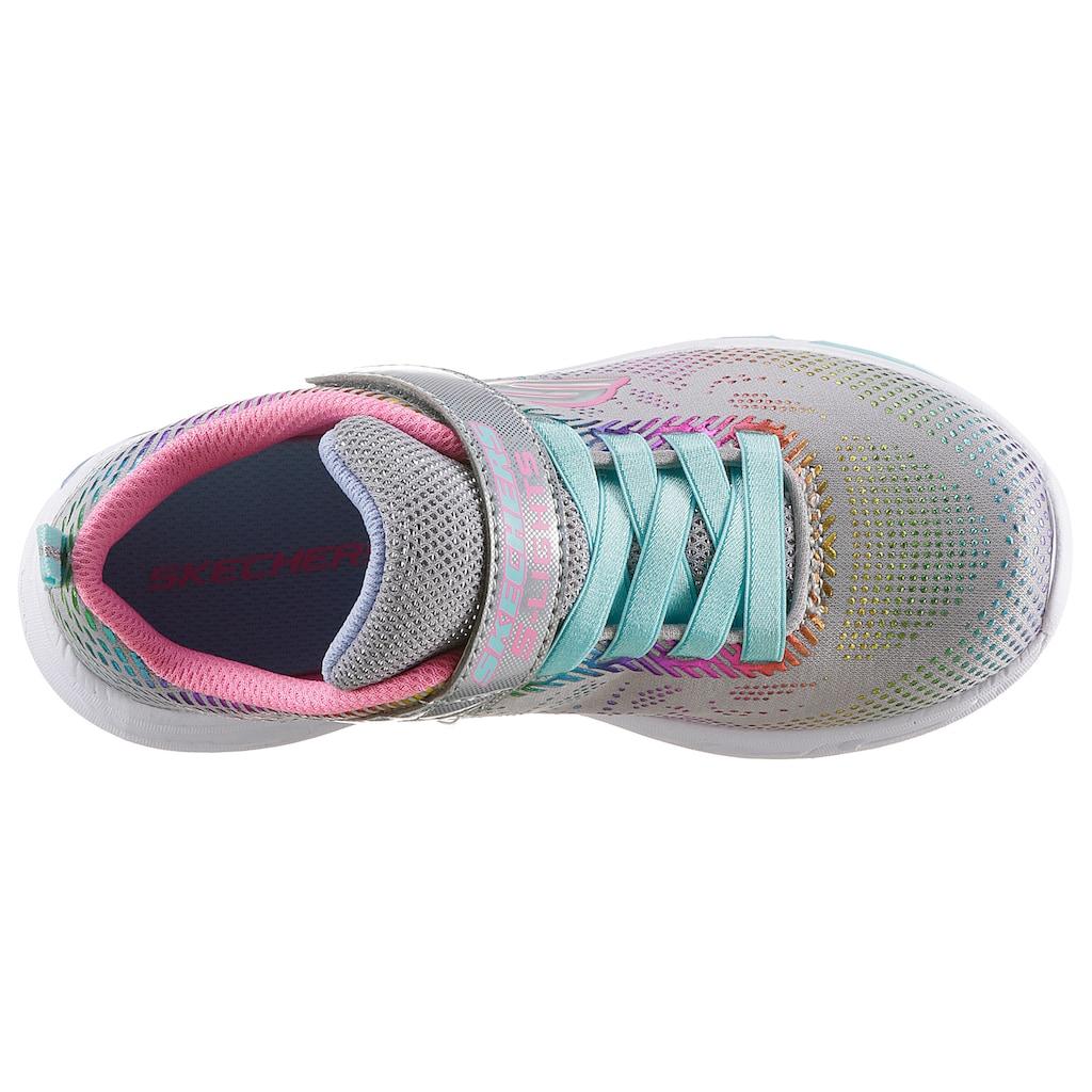 Skechers Kids Sneaker »Blinkschuh LITEBEAMS-Gleam N`Dream«, mit blinkender Laufsohle