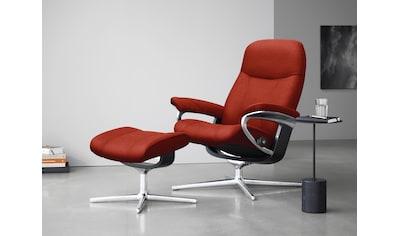 Stressless® Relaxsessel »Consul«, mit Hocker, mit Cross Base, Größe S, M & L, Gestell... kaufen
