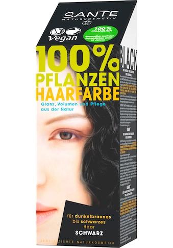 SANTE Haarfarbe »Pflanzenhaarfarbe schwarz« kaufen