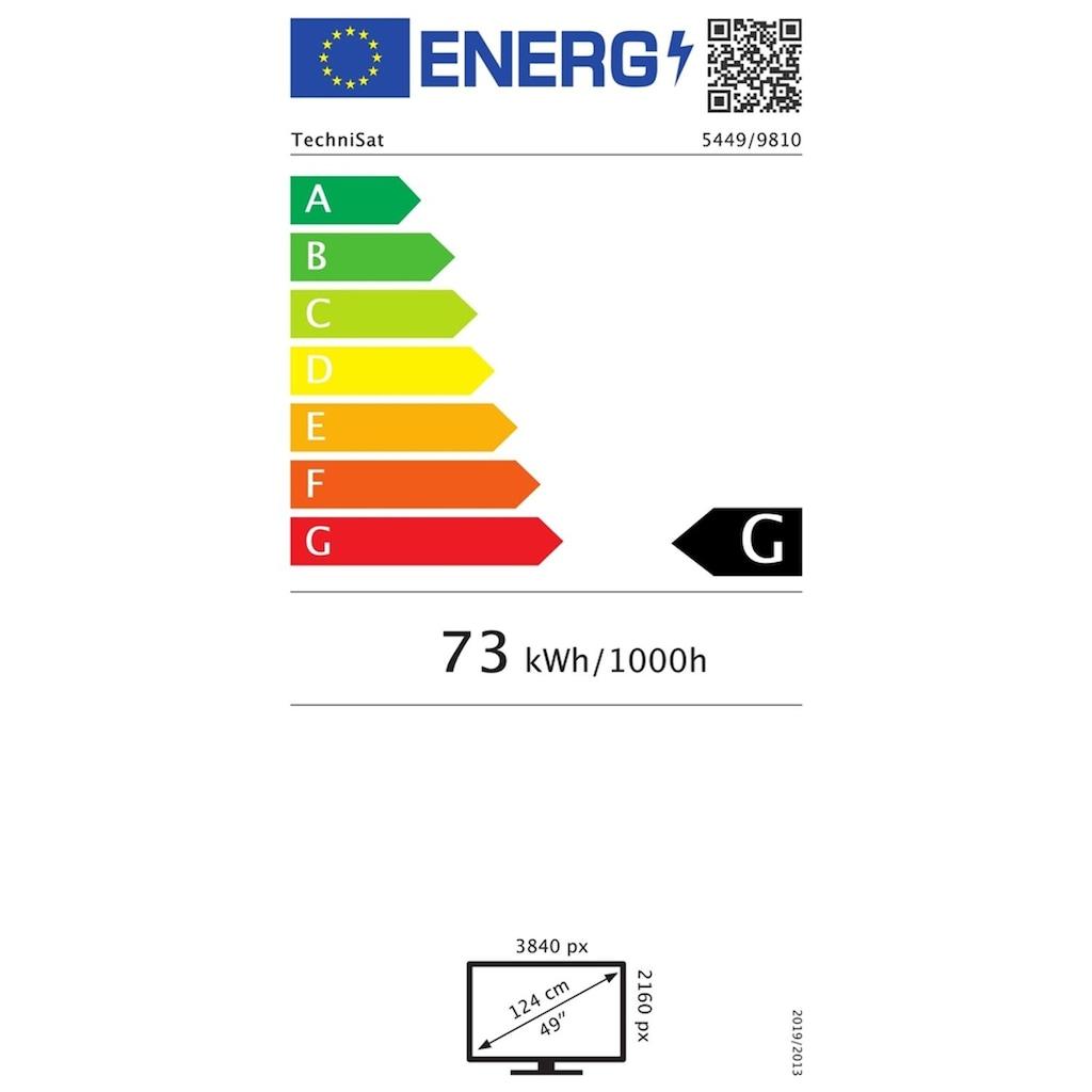 "TechniSat LED-Fernseher »Monitorline UHD 49«, 124 cm/49 "", 4K Ultra HD"