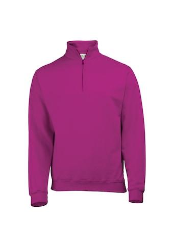 AWDIS Stehkragenpullover »Herren Sweatshirt / Pullover mit Reißverschluss am Kragen« kaufen