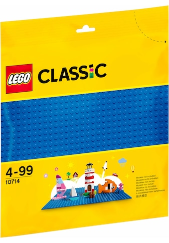LEGO® Konstruktionsspielsteine »Blaue Bauplatte (10714), LEGO® Classic«, (1 St.) kaufen
