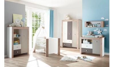 Babymöbel-Set »Madrid«, (Spar-Set, 2 tlg.), Bett + Wickelkommode kaufen
