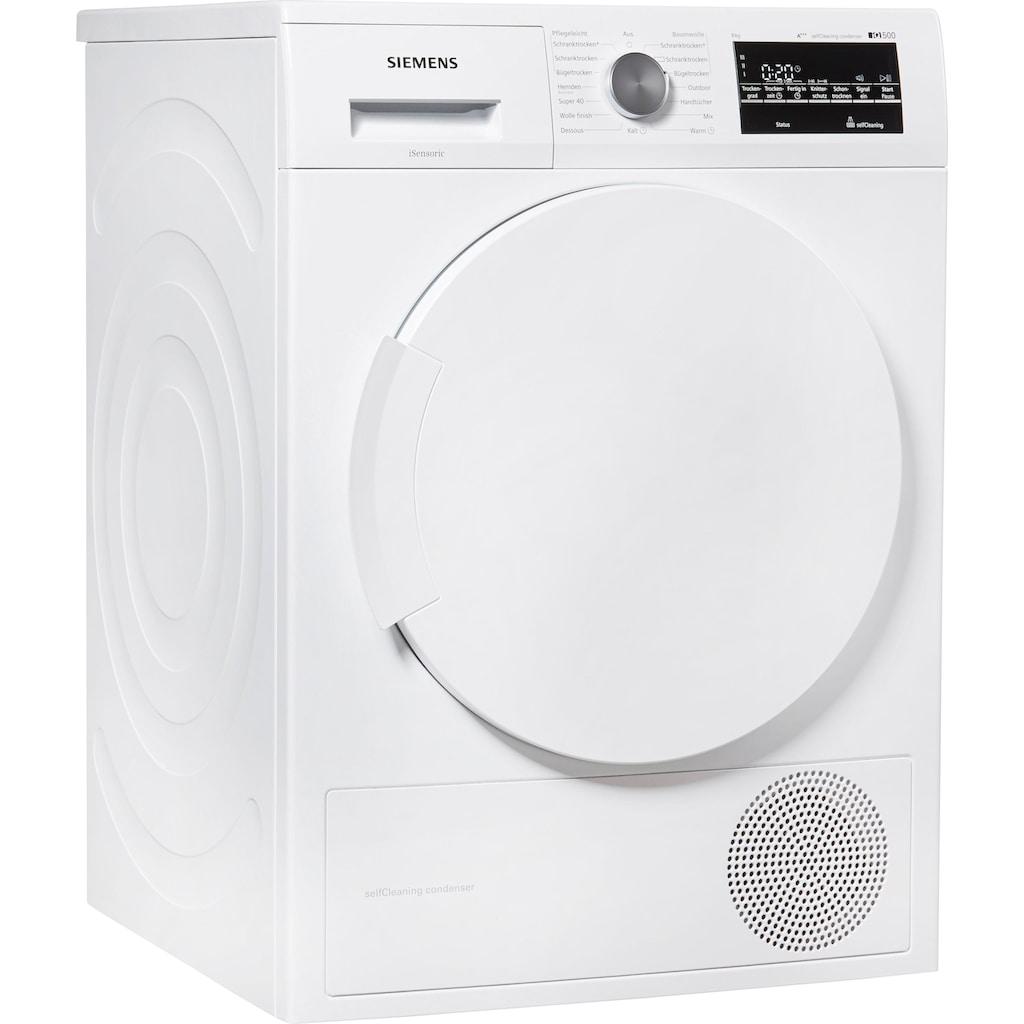 SIEMENS Wärmepumpentrockner IQ500 WT45W4ECO, 8 kg