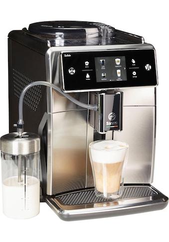 Saeco Kaffeevollautomat »SM7683/10 Xelsis«, 15 Kaffeespezialitäten wählbar, edelstahl/schwarz kaufen