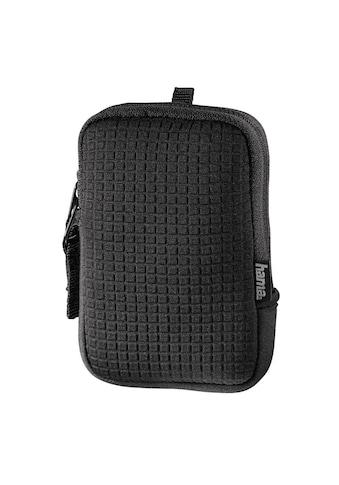 Hama Kameratasche »Innenmaße 7,5 x 2 x 11,5 cm«, Fancy Neopen Quad, 70E, Schwarz kaufen