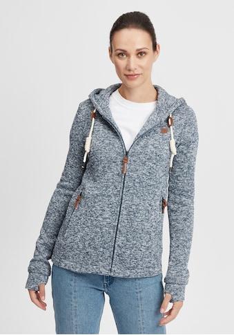 OXMO Kapuzensweatjacke »Thory«, Übergangsjacke mit weicher Fleece-Innenseite kaufen