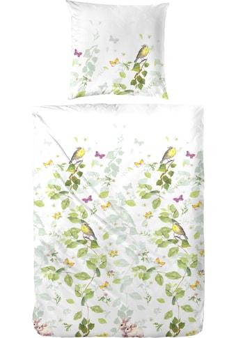 Primera Bettwäsche »Waldgeflüster«, mit frischen Blumenranken kaufen
