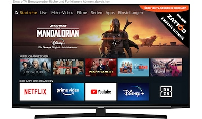 Grundig 49 GUB 8040  -  Fire TV Edition LED - Fernseher (123 cm / (49 Zoll), 4K Ultra HD, Smart - TV kaufen