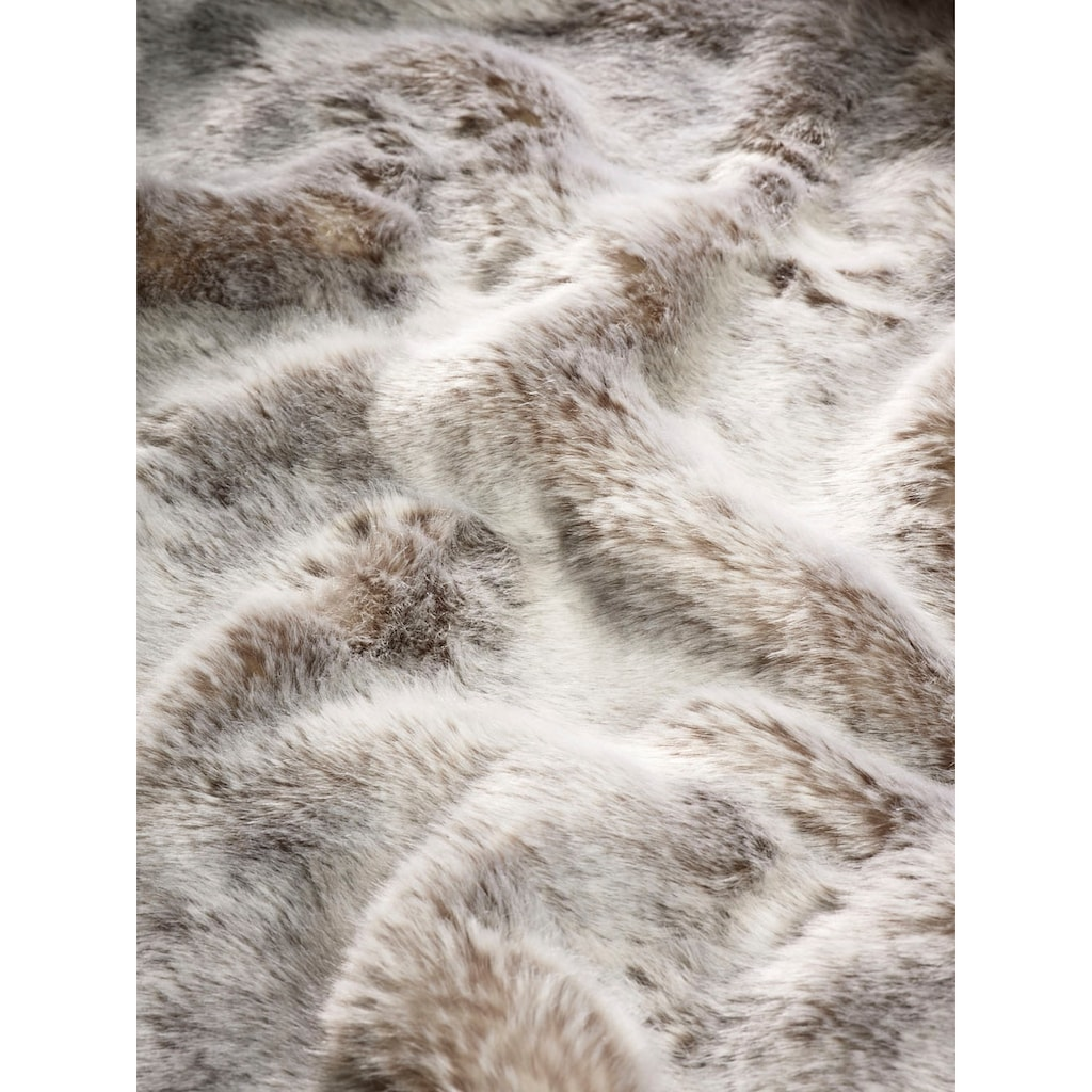 Star Home Textil Wohndecke »Webpelz Decke Silberfuchs«, besonders weich, hochwertig