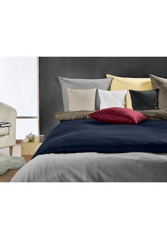 Bettwäsche »Edel - Satin Uni«, Kneer kaufen