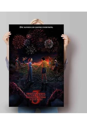 Reinders! Poster »Poster Stranger Things 3 One summer«, Serien, (1 St.) kaufen
