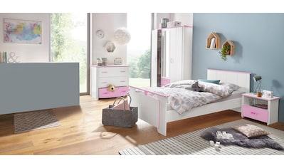 Parisot Jugendzimmer-Set »Biotiful«, (Set, 4 tlg.), mit Kleiderschrank und Kommode kaufen