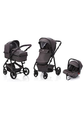 Fillikid Kombi-Kinderwagen »Panther, dunkelgrau«, 22 kg, mit Babyschale kaufen