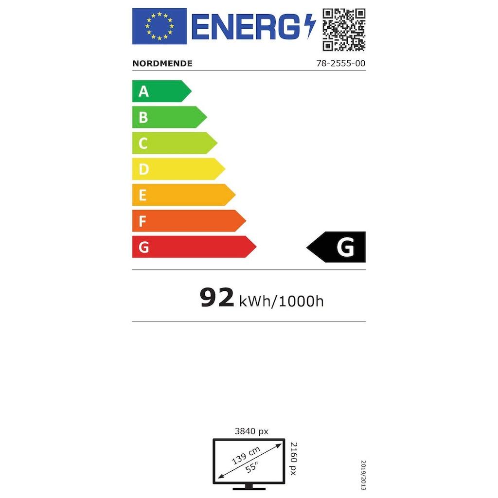 "Nordmende LED-Fernseher »Wegavision UHD55A«, 139 cm/55 "", 4K Ultra HD, Smart-TV"