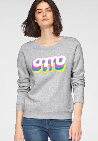 OTTO Sweater »Otto Logo Pride Edition«, aus Bio-Baumwolle mit LOGO-Print kaufen