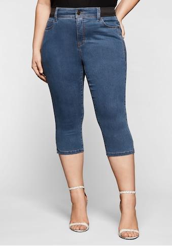 Sheego Stretch-Jeans, mit »Ultimate Stretch«, wächst bis 3 Gr. mit kaufen