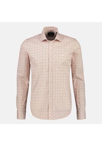 LERROS Langarmhemd, mit Haifischkragen und Minimalprint kaufen