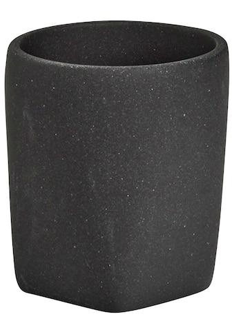 Zeller Present Zahnputzbecher »Dark Stone« kaufen