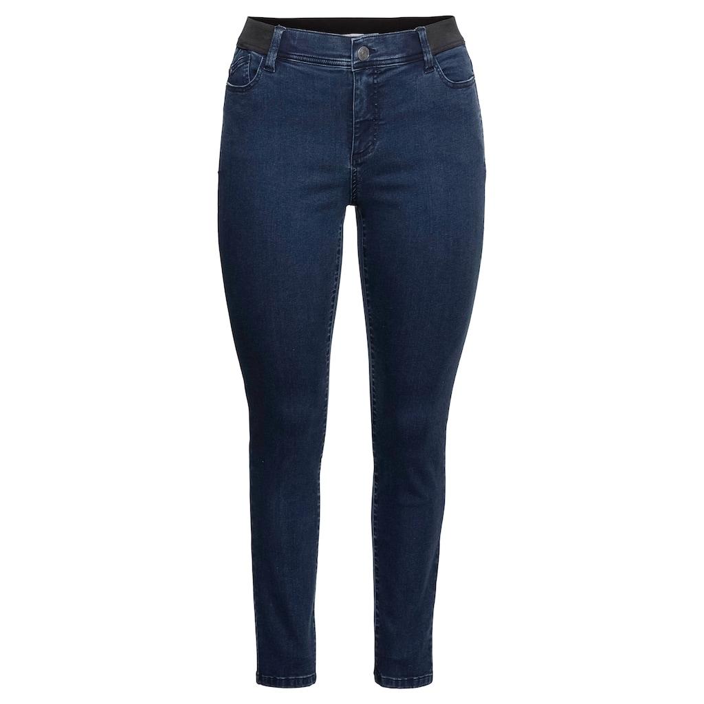Sheego Stretch-Jeans, in hoch elastischer Qualität
