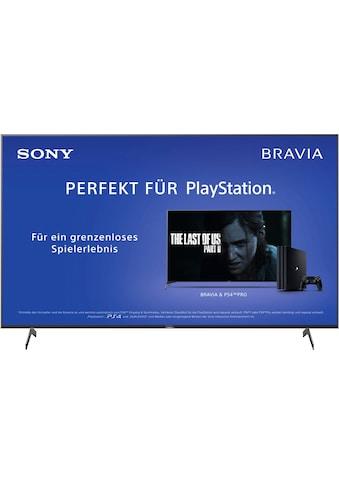 "Sony LED-Fernseher »KD85XH8096 Bravia«, 215 cm/85 "", 4K Ultra HD, Android TV kaufen"