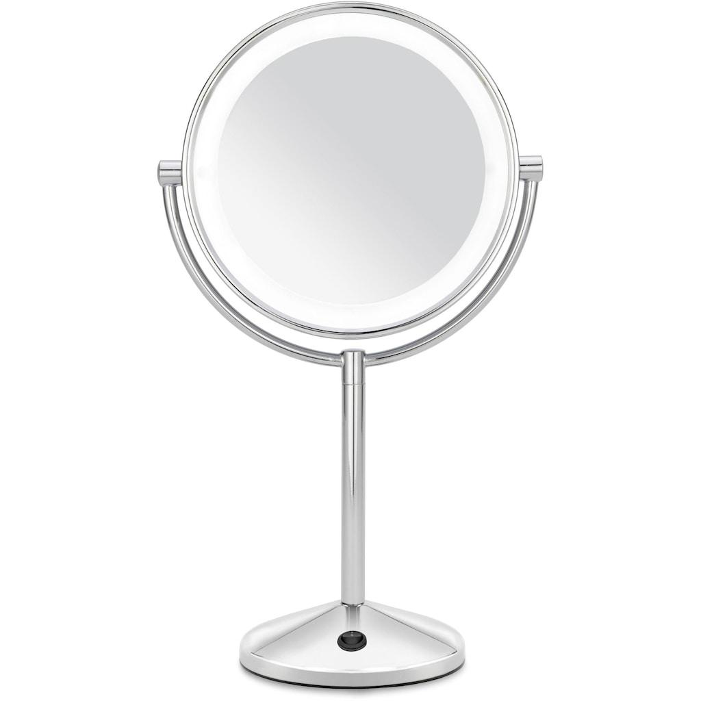 BaByliss LED-Lichtspiegel »9436E Lighted Makeup Mirror«, beleuchteter Kosmetikspiegel mit Batteriebetrieb