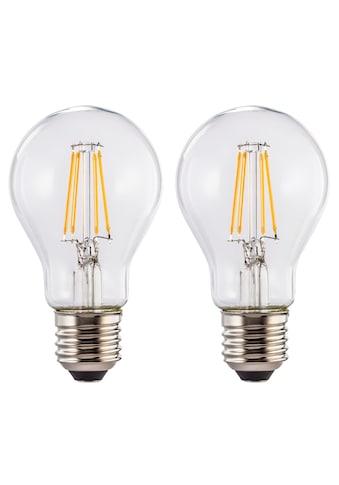 Xavax LED-Filament »warmweiß, 2 Stück Glühbirne«, 2 St., Warmweiß, Leuchtmittel E27... kaufen