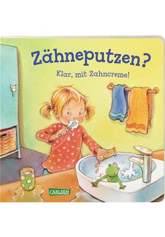 Buch »Zähneputzen? Klar, mit Zahncreme! - ab 2 J. (Kleine Entwicklungsschritte) / Anna Taube, Regine Altegoer« kaufen