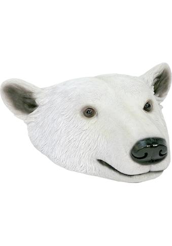 Home affaire Tierfigur »Eisbärkopf« kaufen