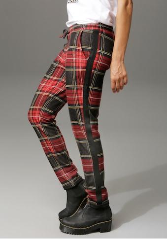 Aniston CASUAL Schlupfhose, mit Galonstreifen kaufen
