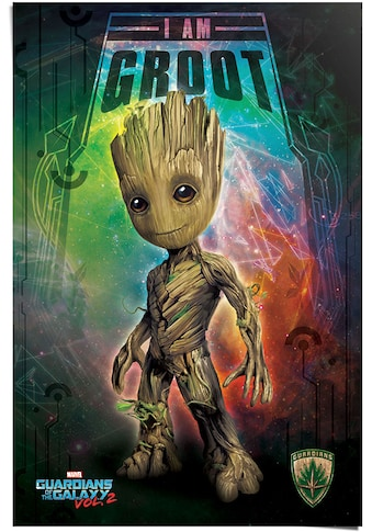 Reinders! Poster »Poster Guardians Of The Galaxy Vol.2 Ich bin Groot«, Film, (1 St.) kaufen