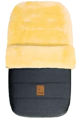 Heitmann Felle Fußsack »Eisbärchen - Winter-Lammfellfußsack«, Baby-Fußsack, mit echtem Lammfell, warm und weich, 6 Gurtschlitze kaufen