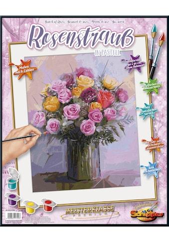 Schipper Malen nach Zahlen »Meisterklasse Premium, Rosenstrauß in Pastellfarben«, Made... kaufen