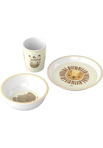 Haba Kindergeschirr-Set »An die Teller, fertig, los!«, (Set, 3 tlg.) kaufen