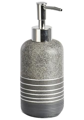 Zeller Present Seifenspender »Shine«, anthrazit kaufen
