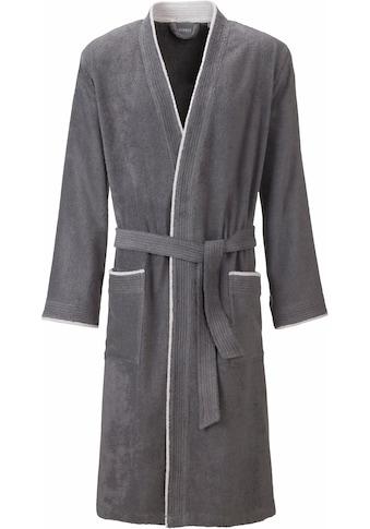 Egeria Herrenbademantel »Nico«, (1 St.), mit Kimono-Kragen kaufen