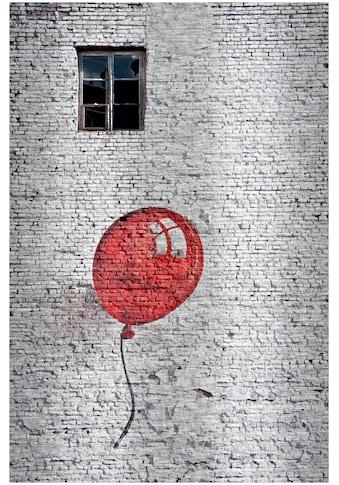 Art & Pleasure Metallbild »Stone balloon«, Gebäude kaufen