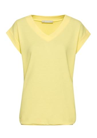 bianca V-Shirt »JULIE«, mit moderner Wabenstruktur kaufen