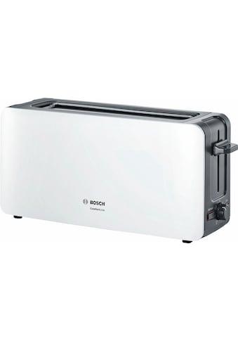 BOSCH Toaster »ComfortLine TAT6A001«, 1 langer Schlitz, 915 W kaufen