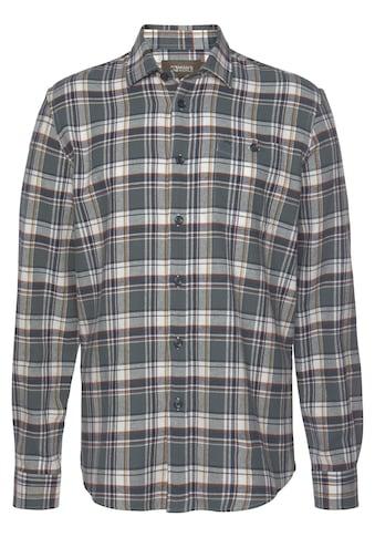 Man's World Flanellhemd, Modisches Großkaromuster kaufen