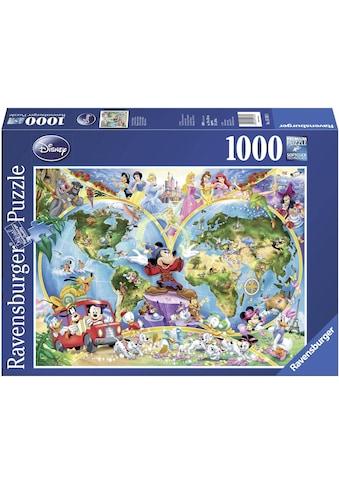 "Ravensburger Puzzle ""Disney's Weltkarte"" kaufen"
