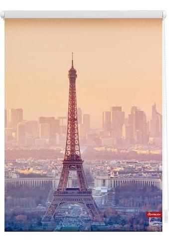 LICHTBLICK ORIGINAL Seitenzugrollo »Klemmfix Motiv Eiffelturm«, Lichtschutz, ohne... kaufen