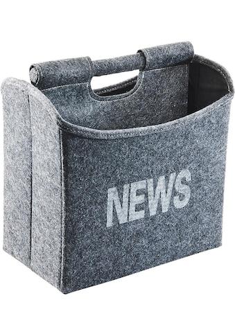 locker Zeitungsständer »NEWS«, faltbar kaufen