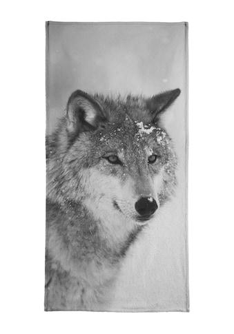 """Handtuch """"The Wolf"""", Juniqe kaufen"""