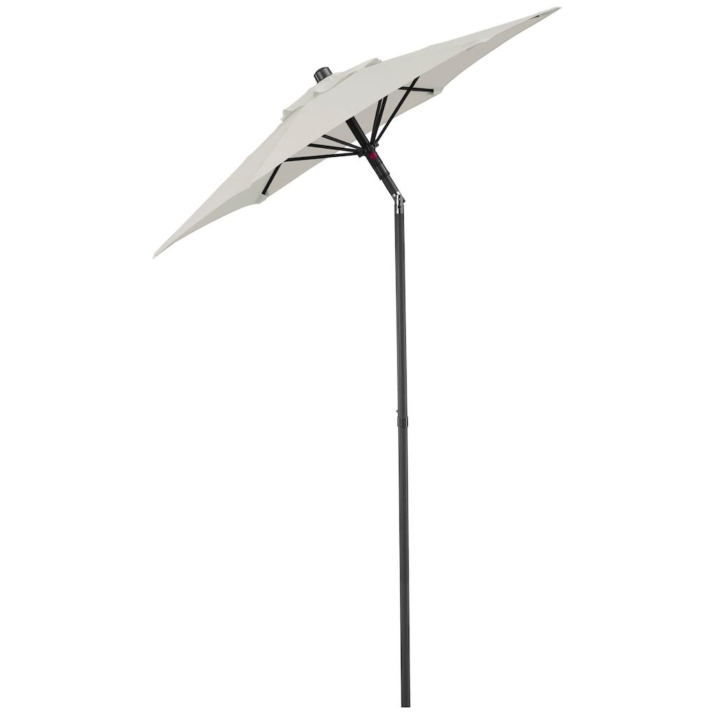 KMP Sonnenschirm »Push up Schirm Rom«, abknickbar, ohne Schirmständer