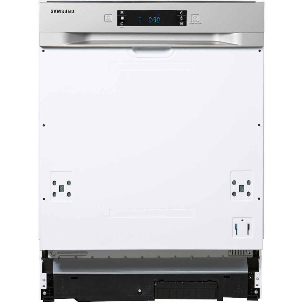 Samsung teilintegrierbarer Geschirrspüler »DW60M6050SS/EG«, DW60M6050SS, 14 Maßgedecke, Besteckschublade