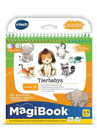 Vtech® Buch »MagiBook Lernstufe 1 - Tierbabys« kaufen