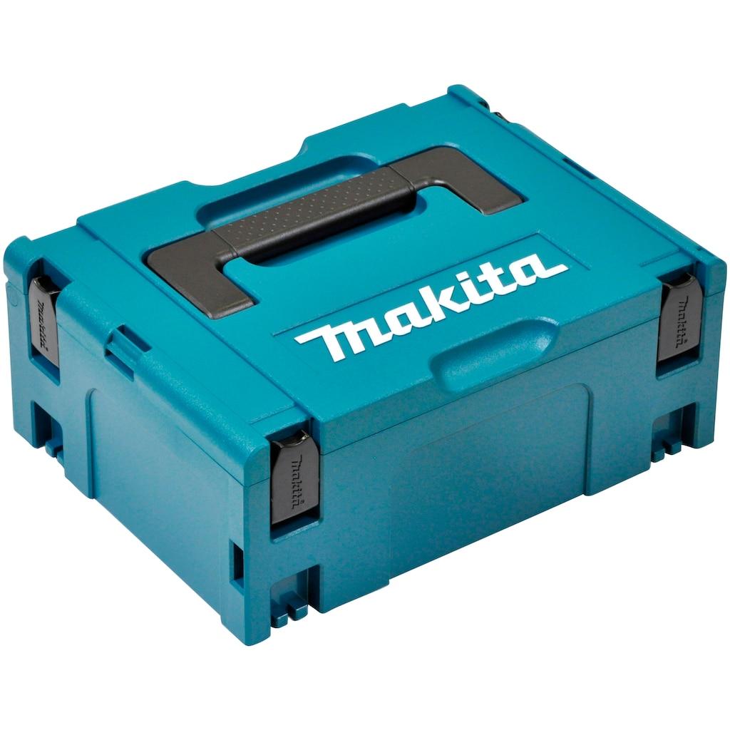 Makita Werkzeugkoffer »MAKPAC Gr. 2«, unbefüllt, BxHxT: 29,5x16,3x39,5 cm